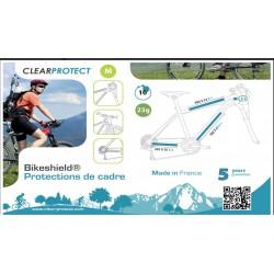 CLEAR PROTECT Protection de cadre de vélo - PACK M