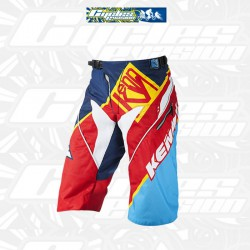 Short KENNY PERFORMANCE RASTA Bleu/Jaune/Rouge