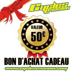 BON D'ACHAT CADEAU 50€