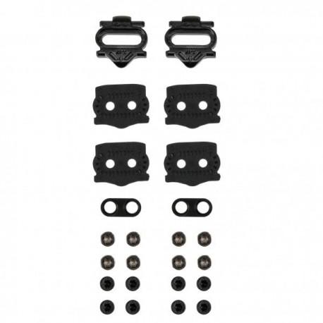 Kit de Cales HT COMPONENTS X1F pour Pédales X1/X2/T1 8°