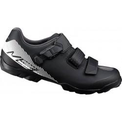 SHIMANO Chaussures Enduro VTT ME300 - Noir/Blanc
