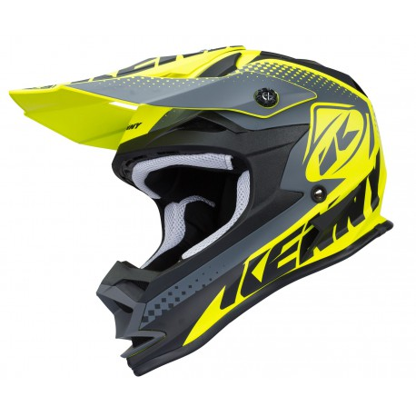 Casque Kenny Performance Mat Neon Yellow 2018