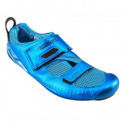 Chaussures Triathlon SHIMANO TR9 Bleu 2017