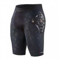 PRO-X SHORT DE PROTECTION ENFANT NOIR LOGO G-FORM