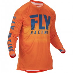 MAILLOT FLY LITE HYDROGEN 2019 ORANGE/BLEU