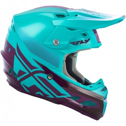 CASQUE FLY F2 MIPS SHIELD 2019 BLEU CLAIR/POURPRE