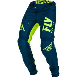 PANTALON FLY KINETIC BICYCLE 2019 SHIELD BLEU/JAUNE FLUO