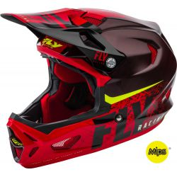 CASQUE FLY WERX MIPS 2019 NOIR / ROUGE