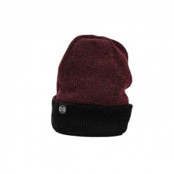 BONNET STAY STRONG ICON CUFF BURGUNDY/BLACK