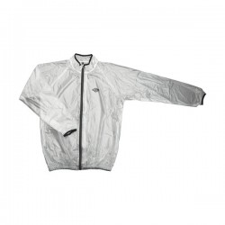 VESTE COUPE VENT SHOT TRANSPARENT NOIR