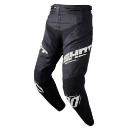 PANTALON SHOT BMX ROGUE KID BLACK WHITE