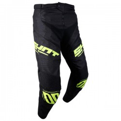 PANTALON SHOT BMX ROGUE KID BLACK NEON YELLOW