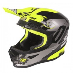 CASQUE SHOT FURIOUS SHADOW NEON YELLOW GLOSSY KID