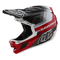 CASQUE TLD D4 CARBON MIPS MIRAGE SRAM BLACK/RED
