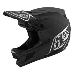 CASQUE TLD D4 CARBON MIPS STEALTH BLACK/SILVER
