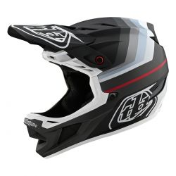 CASQUE TLD D4 COMPO MIPS MIRAGE BLACK/SILVER