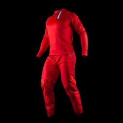MAILLOT COMPACT NOLOGO ROUGE