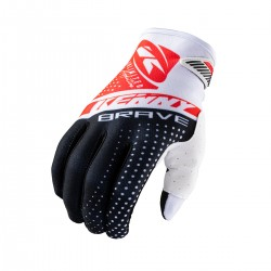 GANTS KENNY BRAVE KID BLACK/WHITE/RED 2021