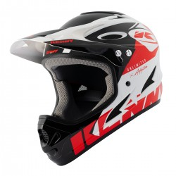 CASQUE KENNY DOWNHILL  WHITE/RED 2021