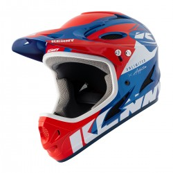 CASQUE KENNY DOWNHILL  RED/BLUE 2021
