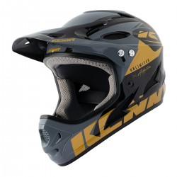 CASQUE KENNY DOWNHILL  BLACK/GOLD 2021