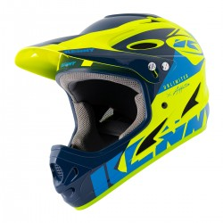 CASQUE KENNY DOWNHILL  NAVY/NEON YELLOW 2021