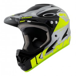 CASQUE KENNY DOWNHILL  NEON YELLOW/SILVER 2021