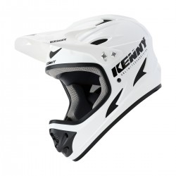 CASQUE KENNY DOWNHILL  SOLID WHITE 2021