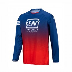 MAILLOT KENNY ELITE KID RED/NAVY 2021