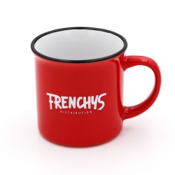 MUG FRENCHYS CERAMIC RED