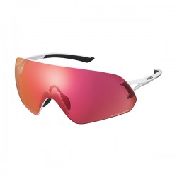 Shimano lunettes arlp1rd blanc w/ ridescape road