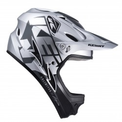 CASQUE KENNY DOWN HILL 2022 GRAPHIC SILVER