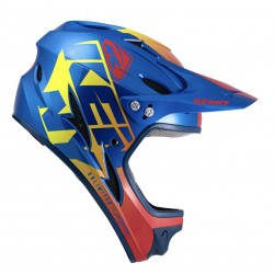 CASQUE KENNY DOWN HILL 2022 GRAPHIC CANDY BLUE