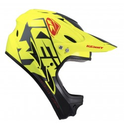 CASQUE KENNY DOWN HILL 2022 GRAPHIC NEON YELLOW