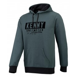 SWEAT HOMME KENNY LABEL GREEN