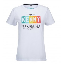 TEE-SHIRT KENNY FEMME RAINBOW WHITE