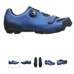 CHAUSSURE SCOTT MTB COMP BOA® metallic blue