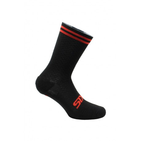 CHAUSSETTES SIXS MERINOS RED STRIPES