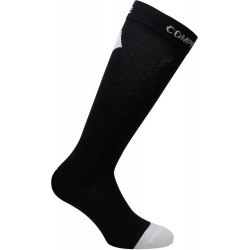 CHAUSSETTES SIXS COMPRESSION RECOVERY BLACK/WHITE