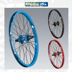 Roue black label roulements annulaires ROUGE