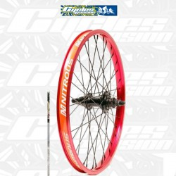 Roue ARRIERE EASTERN Nitrous K7 color OR