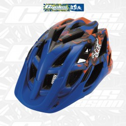 CASQUE SCOTT SPUNTO  KIDS  ORANGE BLEU