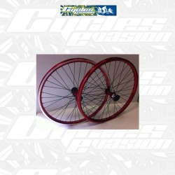 PAIRE DE ROUE CRUISER ABP IMPORT RED