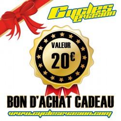 BON D'ACHAT CADEAU 20€