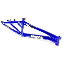 CADRE YESS BMX TYPE X INTENSE BLUE