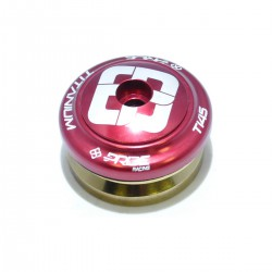 "JEU DE DIRECTION PRIDE TI45 TITANIUM 1-1/8"" ROUGE"
