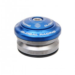 "JEU DE DIRECTION GLOBAL RACING FLEX 1-1/8"" BLEU"