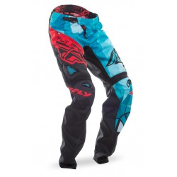 PANTALON FLY KINETIC BICYCLE CRUX TEAL / ROUGE 2017
