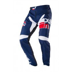 PANTALON BMX PULL-IN RACE 2018 navy/white  enfant