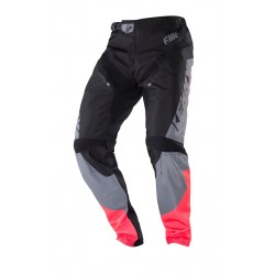 PANTALON ELITE BMX BLACK /CORAIL   KENNY ADULTE 2018
